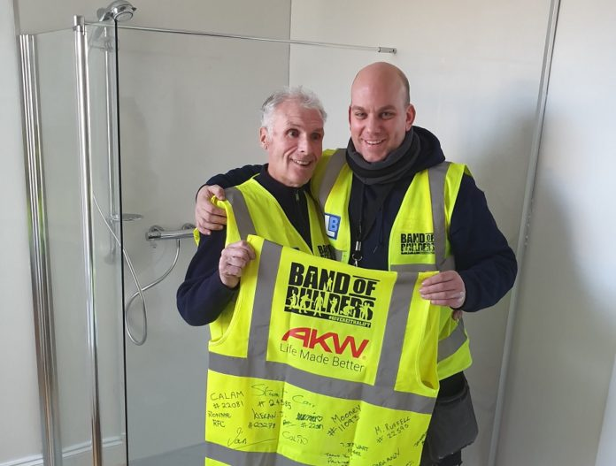AKW helps Band of Builders change another tradesman's life | Heating & Plumbing Monthly Magazine (HPM)