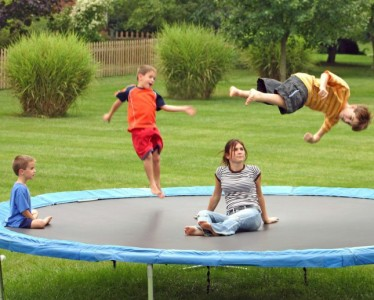 """The Key To Avoiding """"Trampoline Ankle"""""""