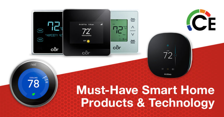 Must-Have Smart Home Products: Smart Thermostats & Sensors for Improved Heating and Cooling