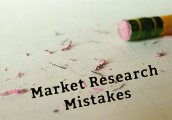 Common Market Research Mistakes | Website Designs Content Marketing
