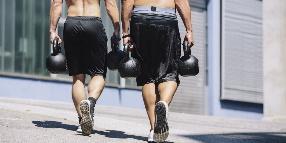Men Over 40 Can Get Stronger By Walking With a Heavy Load