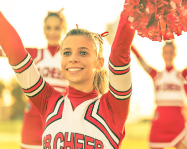 Cheerleading and Foot Injuries