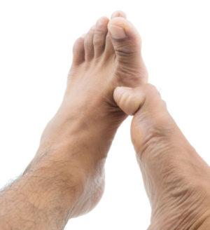 Phantom Sensations Between The Toes
