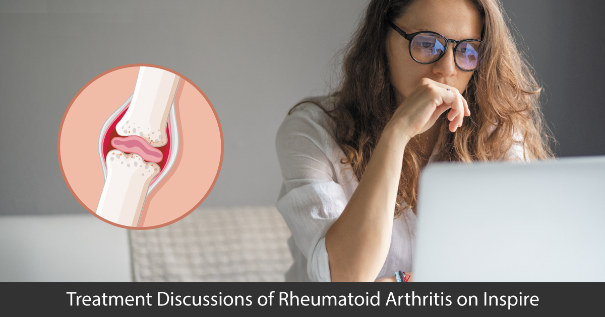 Treatment Discussions of Rheumatoid Arthritis on Inspire