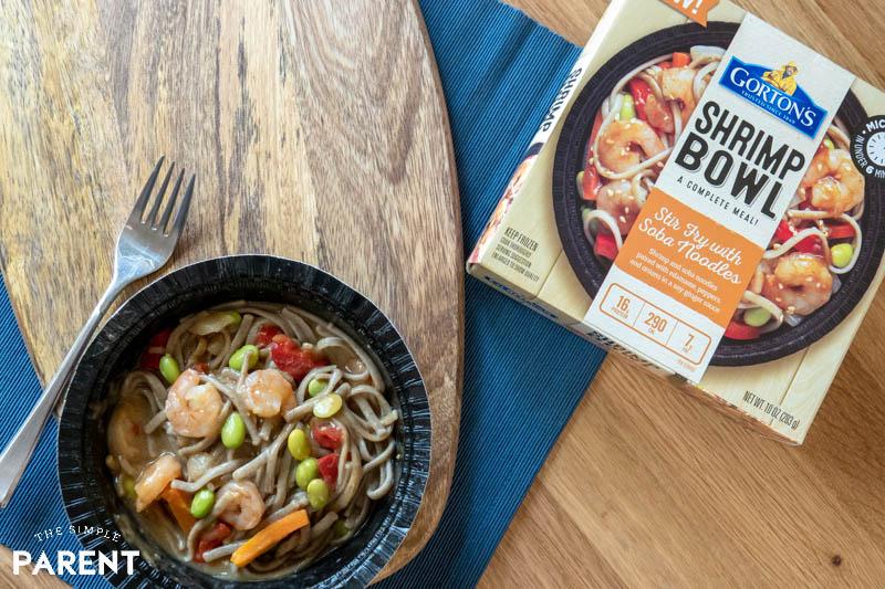 easy dinner ideas for parents gorton s shrimp bowls the simple pa