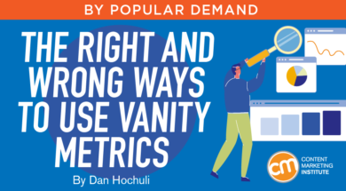 The Right and Wrong Ways to Use Vanity Metrics