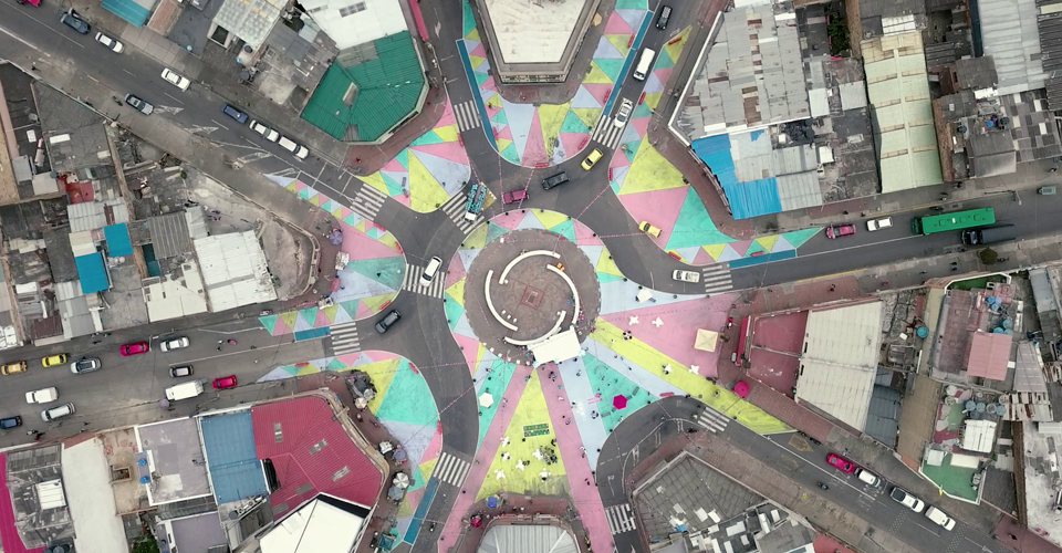 A Little Paint Can Change a Community's Relationship to Its Streets