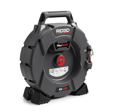 RIDGID FlexShaft Drain Cleaning Machines - Plumbing Perspective | News, Product Reviews, Videos, and Resources for today's contractors.