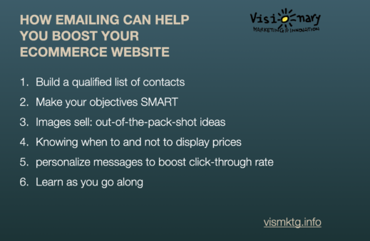 6 tips to boost your e-commerce site with email marketing