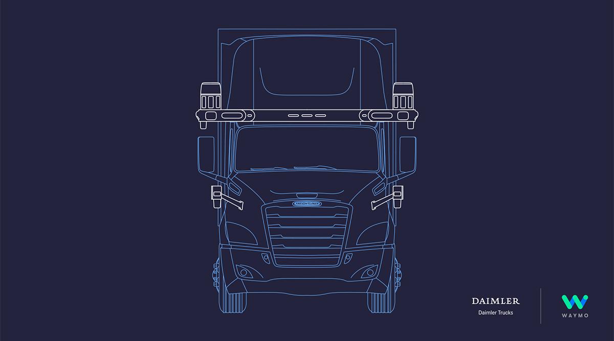 Daimler, Waymo Partner to Develop Autonomous Trucks