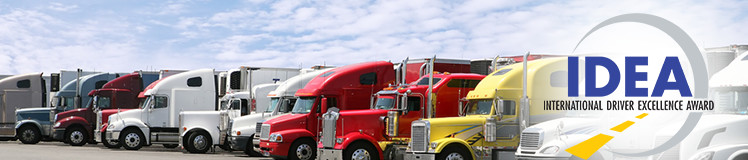 International Driver Excellence Award (IDEA) - CVSA - Commercial Vehicle Safety Alliance