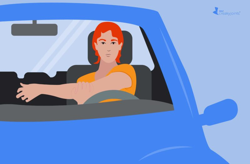 6 Gentle Stretches to Relieve Stiffness from Driving with Arthritis