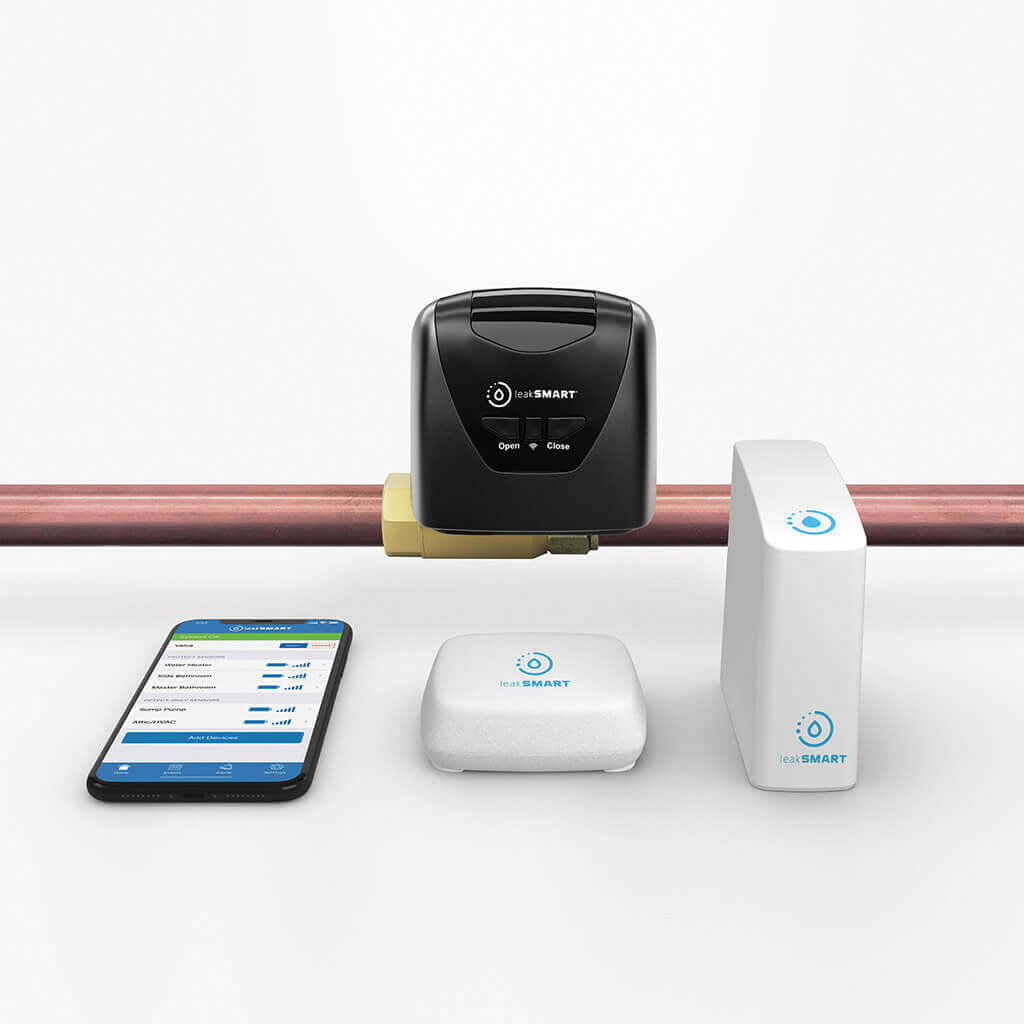 Smart Home with LeakSmart and Isaac - Isaac Heating