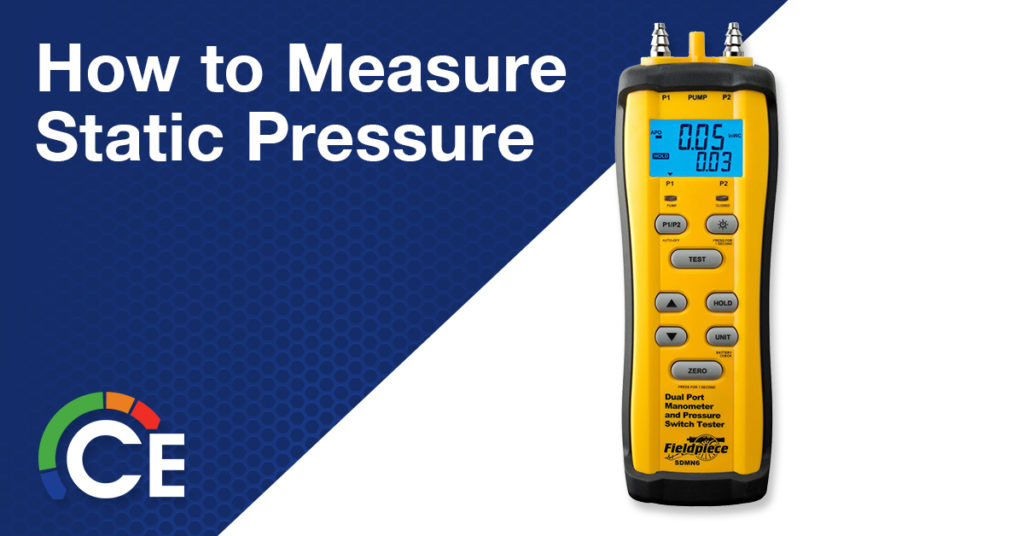 How to Measure Static Pressure | Calculating Static Pressure