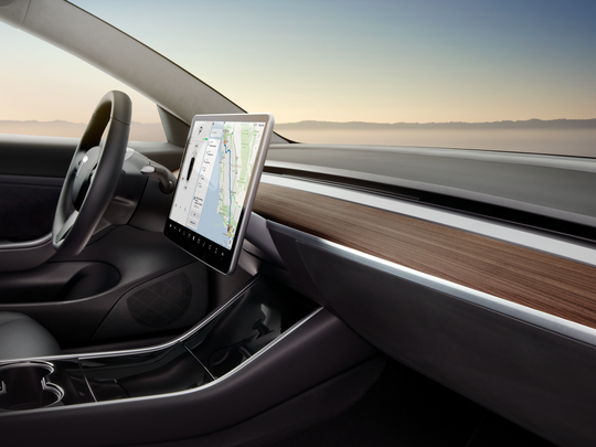 Screens in cars are getting even bigger? Is it safe?