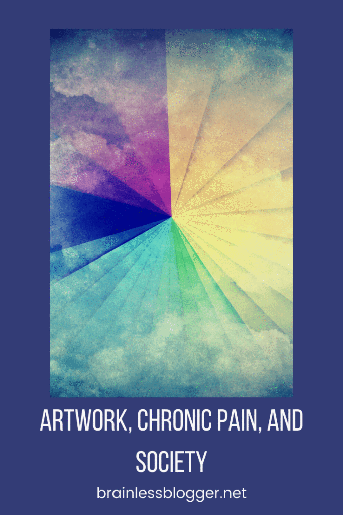 Artwork, chronic pain, and society