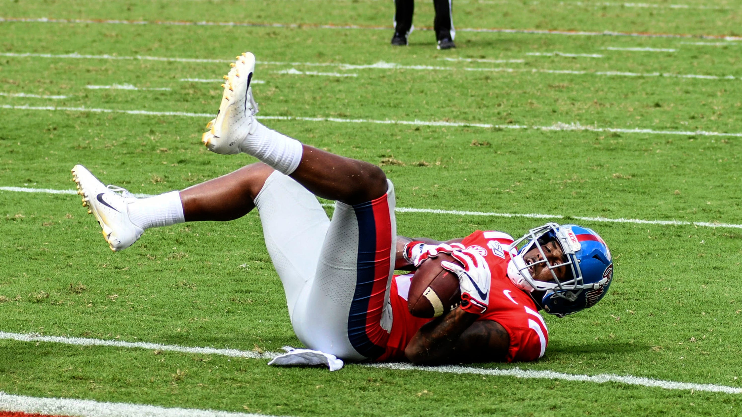 Touchdown or not? Ole Miss loss ends with controversial play