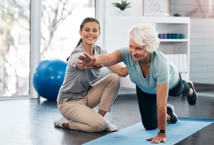Physical Therapy at Home: Exercises and Devices to Relieve Pain during the Pandemic