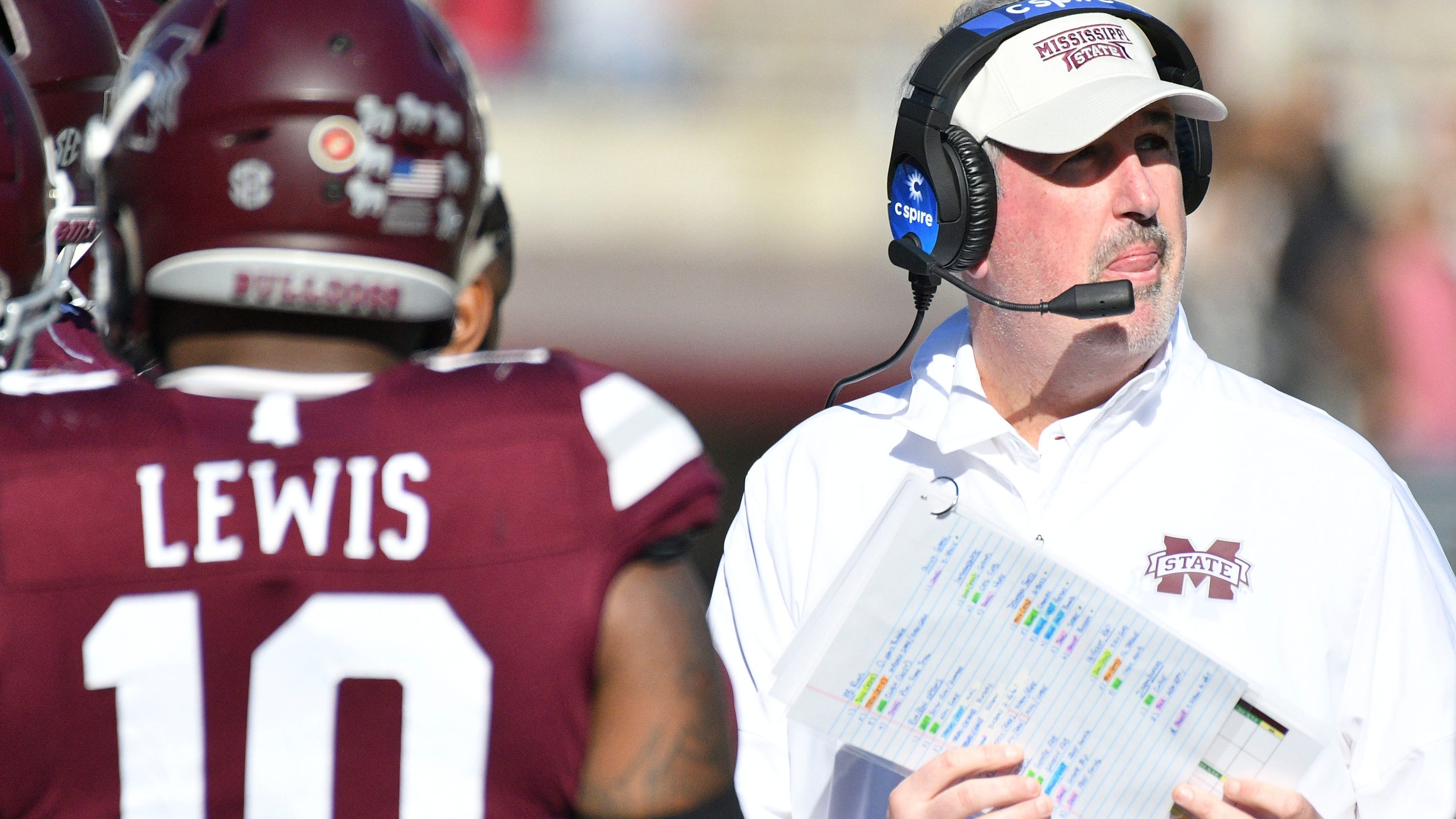 How Mississippi State football has shown signs of regression under Joe Moorhead