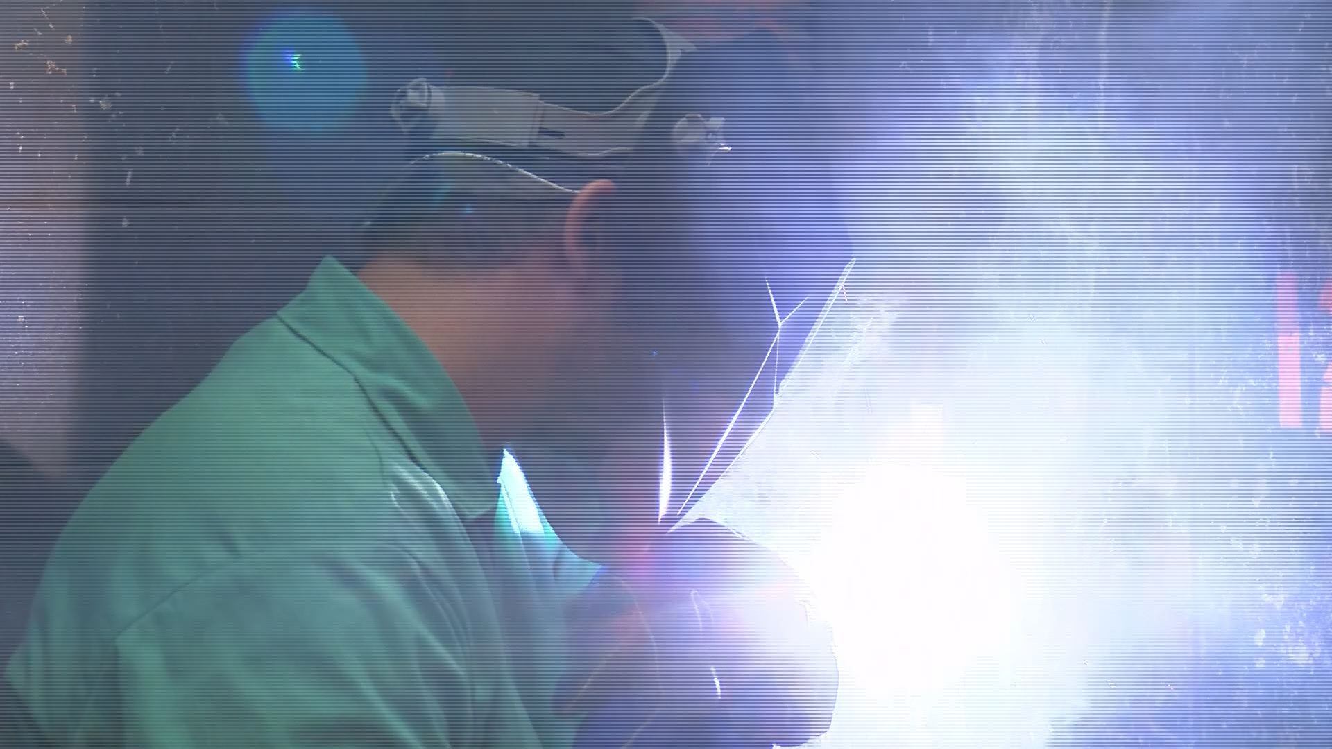 MGCCC welding students look for a brighter future