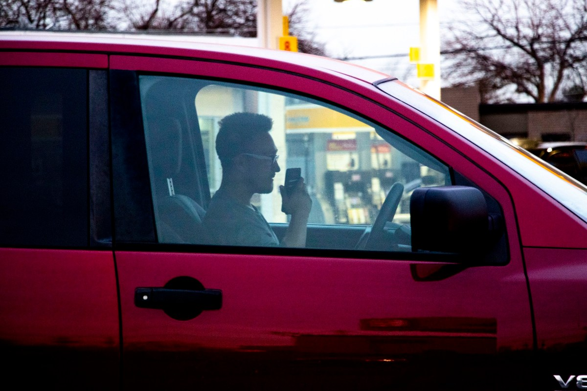 Denver is full of distracted drivers because nobody's stopping them