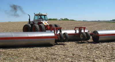 Management considerations for rolling soybean in the upper Midwest