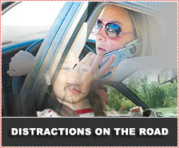 Avoiding Distractions whilst Driving
