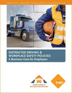 Distracted driving business case is a call-to-action for Canada's employers | Traffic Injury Research Foundation