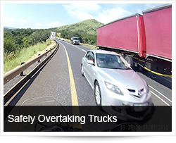 Sharing Roads with and Overtaking Trucks