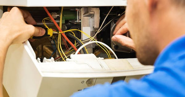 What happens during a boiler service?