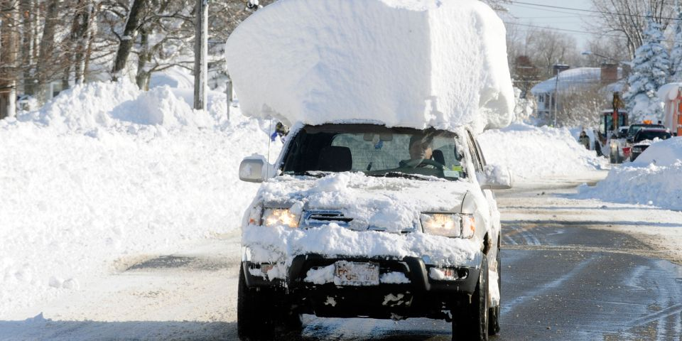 Three reasons you should really clear that snow off your car