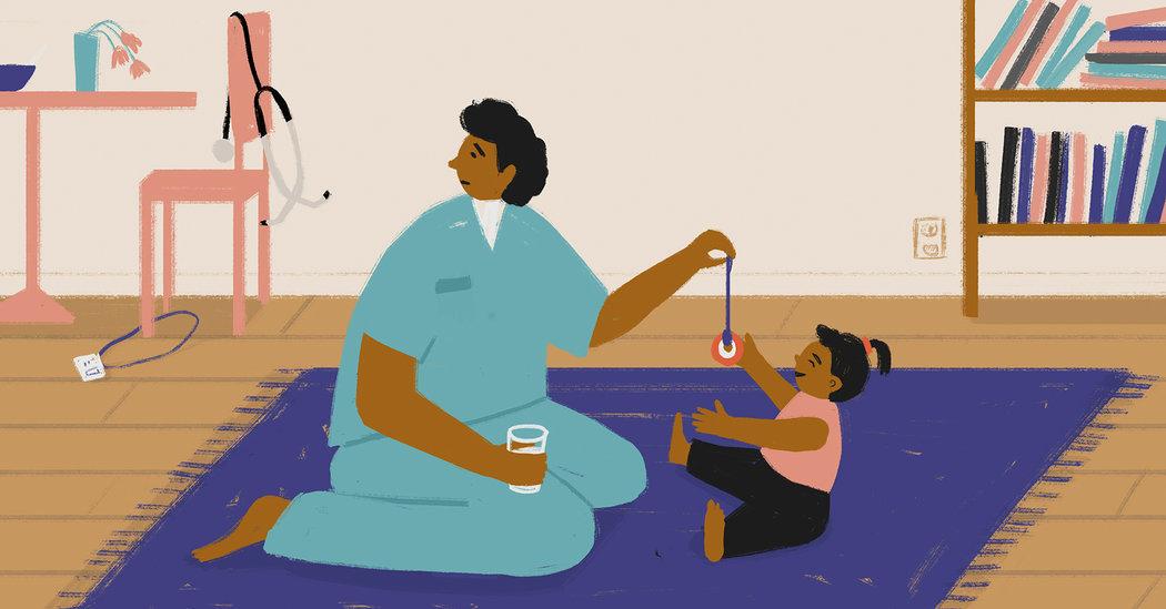 When Child Care Centers Close, Parents Scramble to Adapt