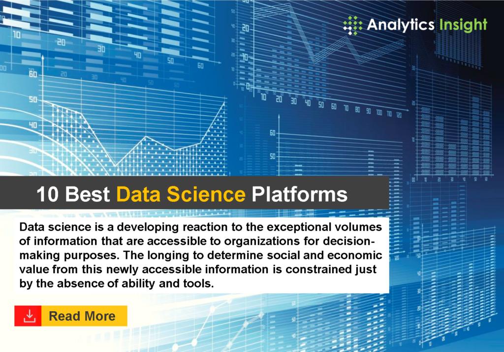 10 Best Data Science Platforms | Analytics Insight