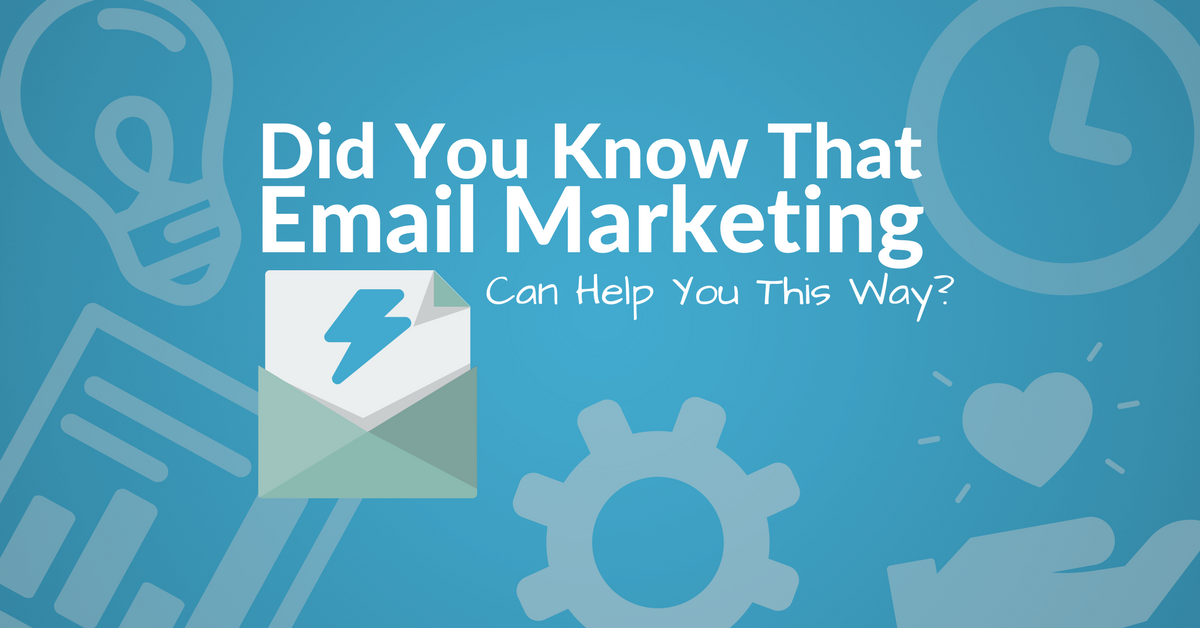 Did You Know That Email Marketing Can Help You This Way? | Automizy