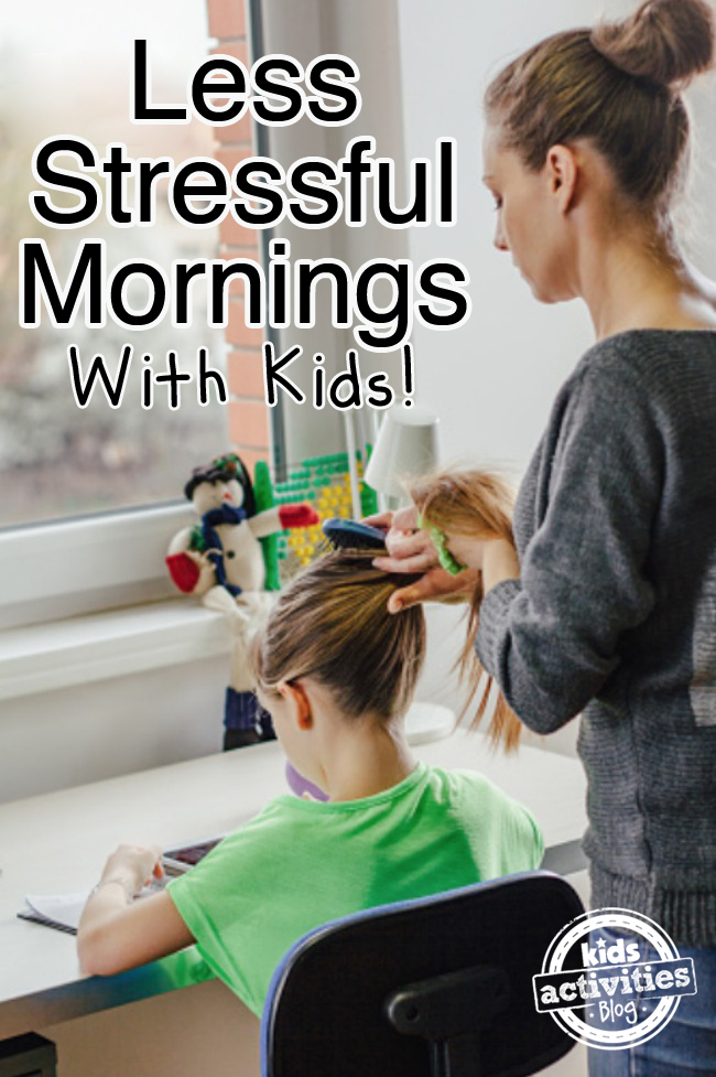 Tips to Decrease the Stress in Your Morning Routine | Kids Activities Blog