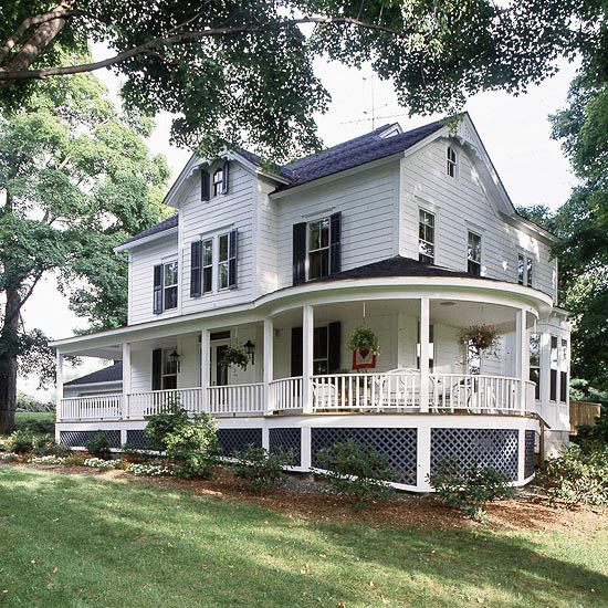 Front Porch Design Ideas Wrap Around Porches Blog Air Conditioning