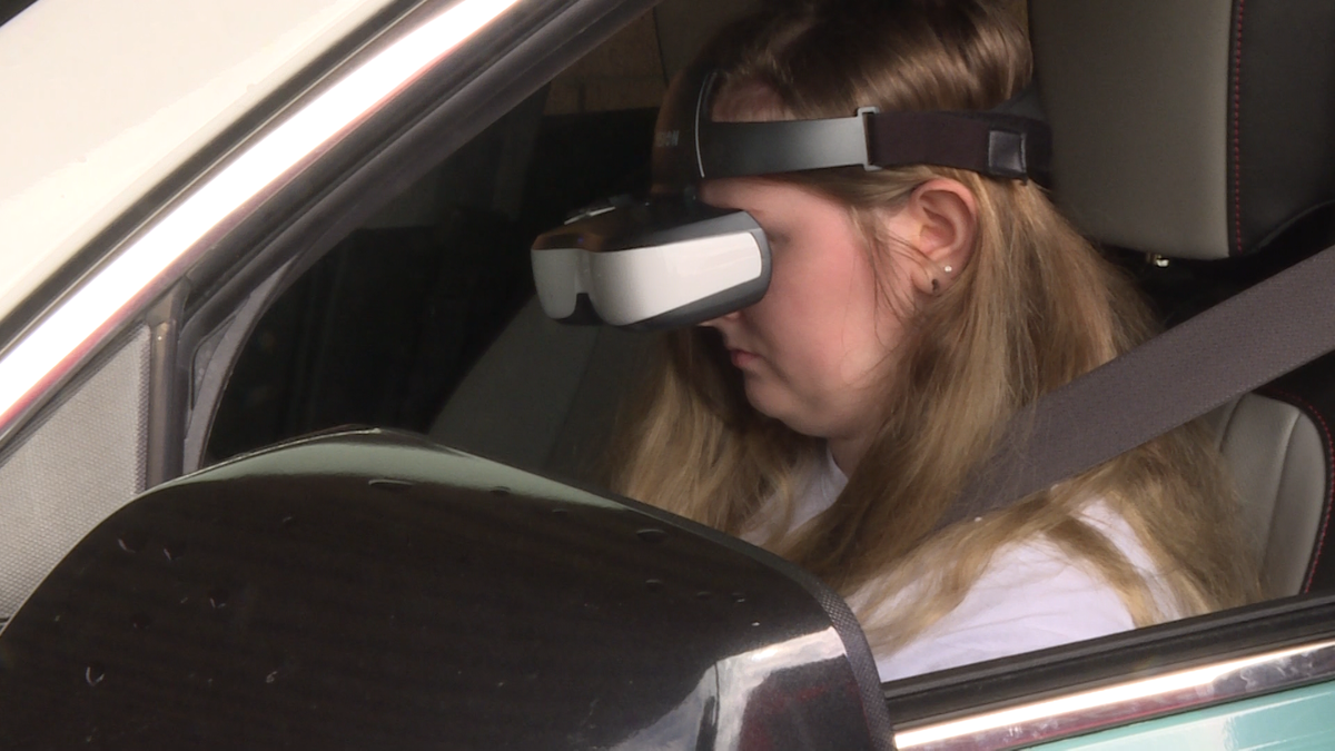 Upstate students learn potential dangers of distracted driving