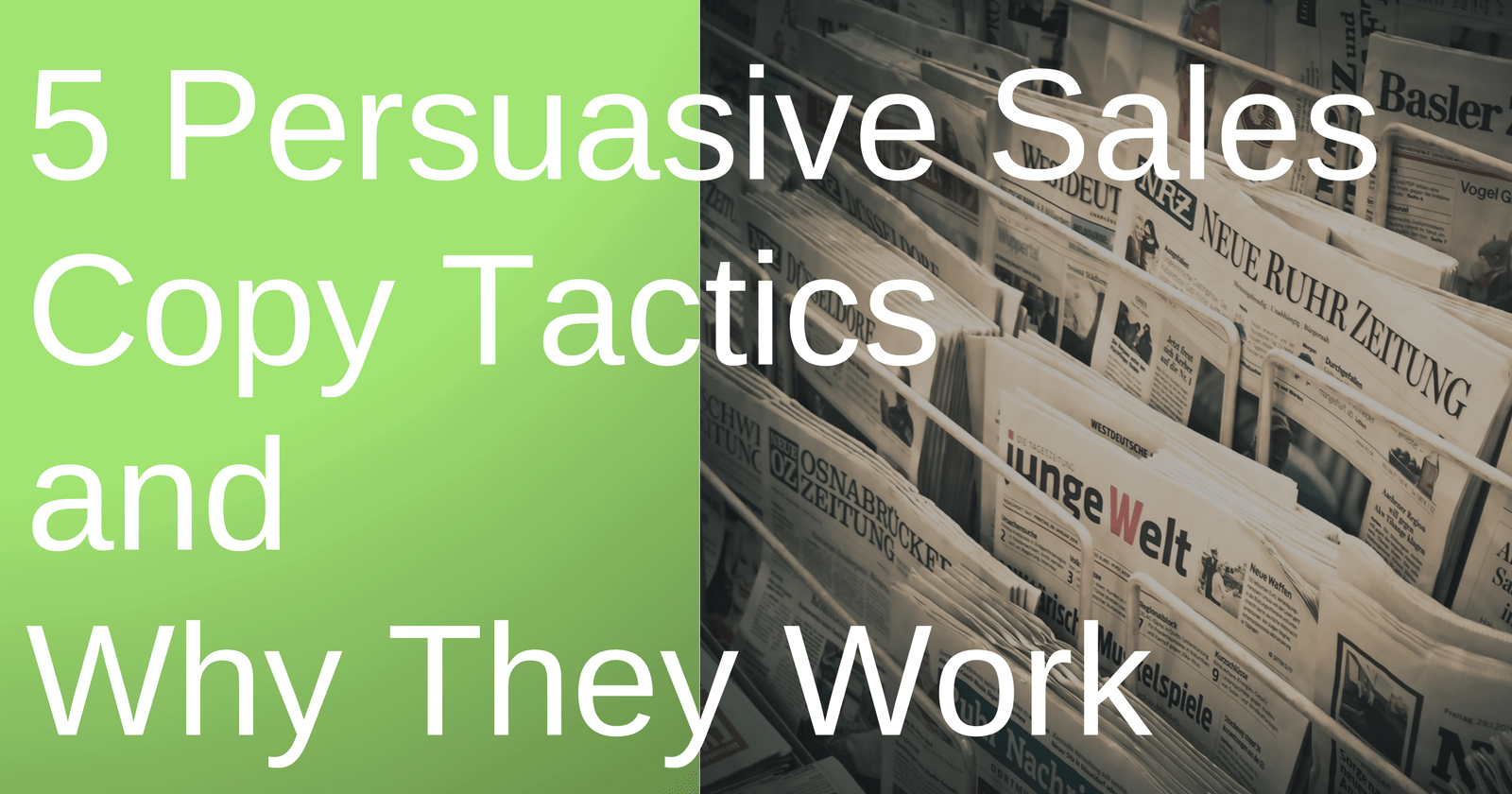 5 Persuasive Sales Copy Tactics & Why They Work