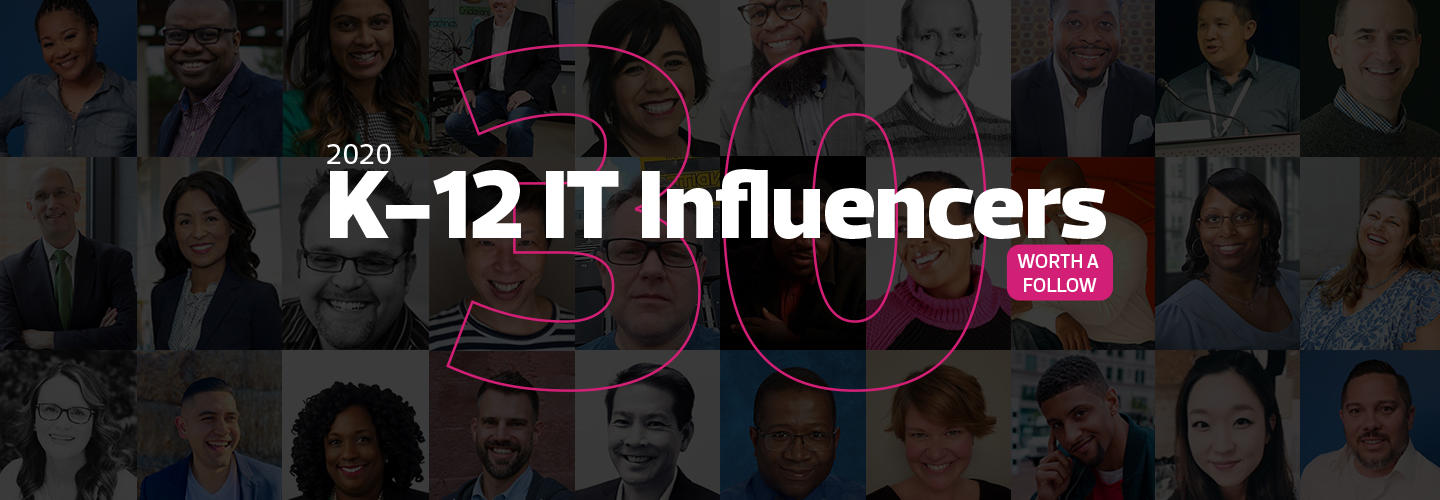 30 K–12 IT Influencers Worth a Follow in 2020