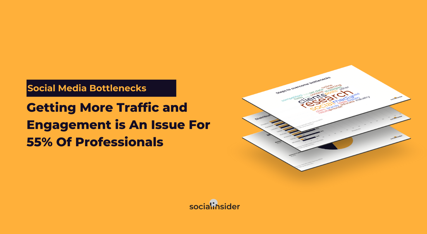 Social Media Bottlenecks: Traffic and Engagement Is An Issue For 55%
