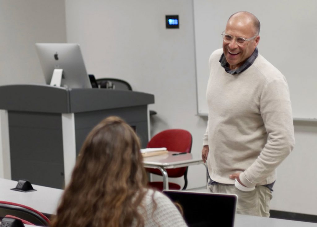 Professor Profile: Burson teaches students to find their passion