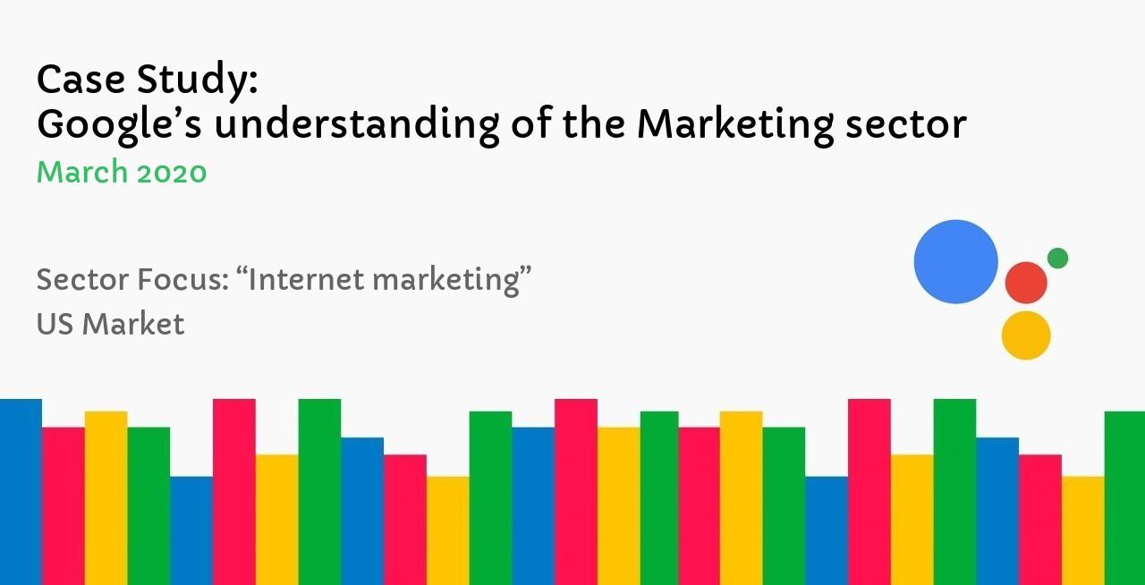 Google's understanding of the Marketing sector