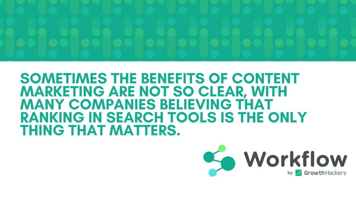 12 Great Benefits of Content Marketing