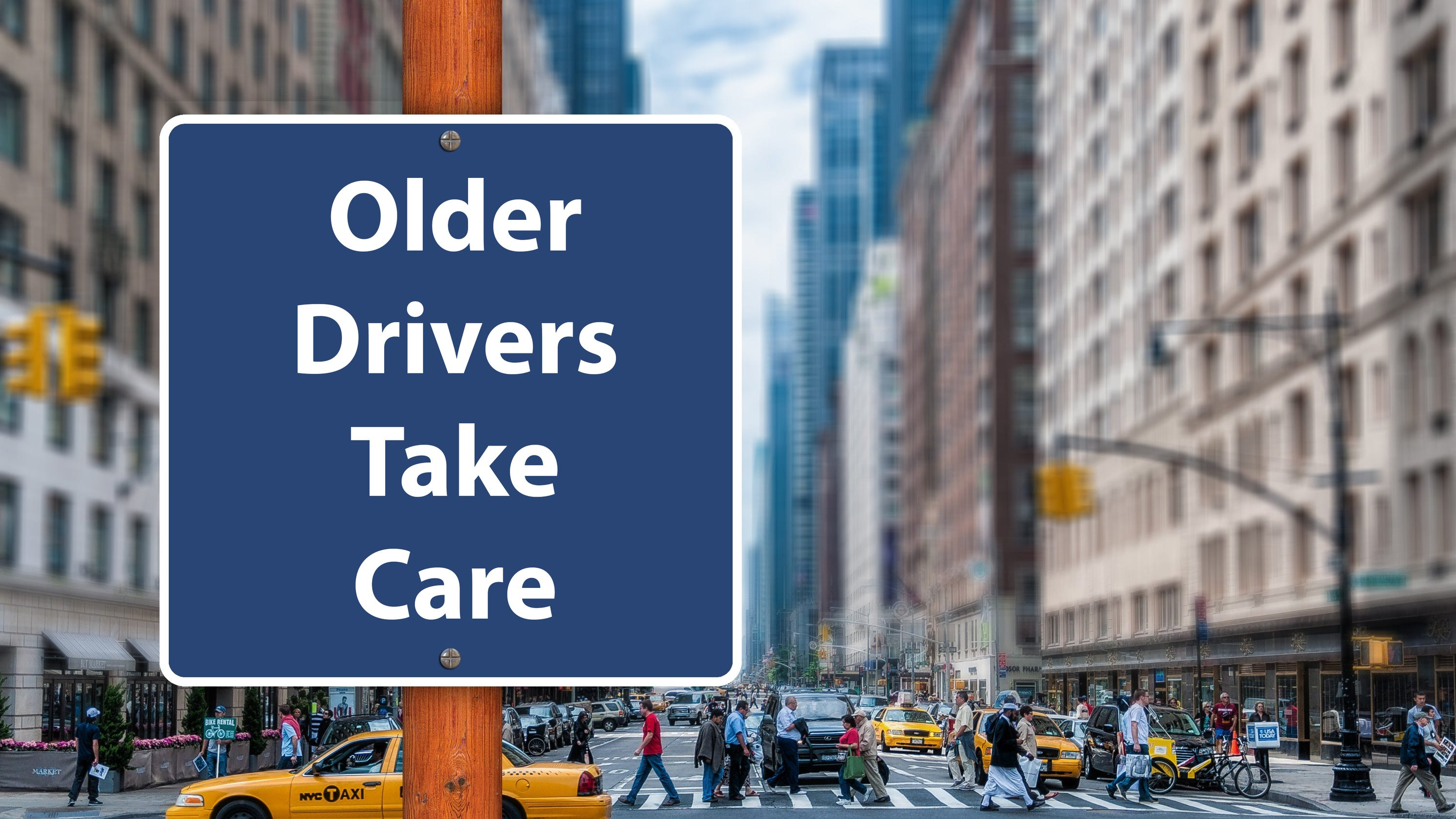 Driving safety for older adults: Watch for changes, make adjustments