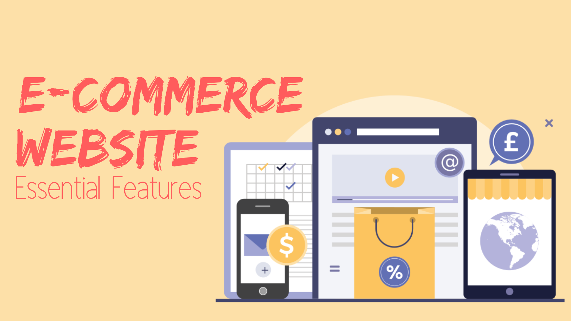 Can Electronic Media Impact Your >> 12 Essential Website Features That Your E Commerce Website