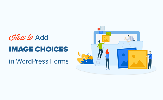 How to Add Image Choices in WordPress Forms