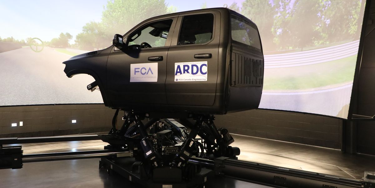 FCA's New Simulator Will Make Its Trucks Ride and Handle Better