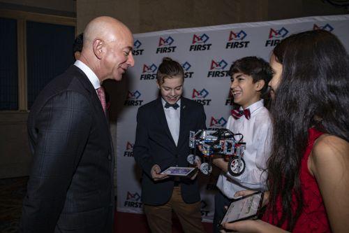 First Founder Dean Kamen Honors Jeff Bezos Celebrates Young Changemak