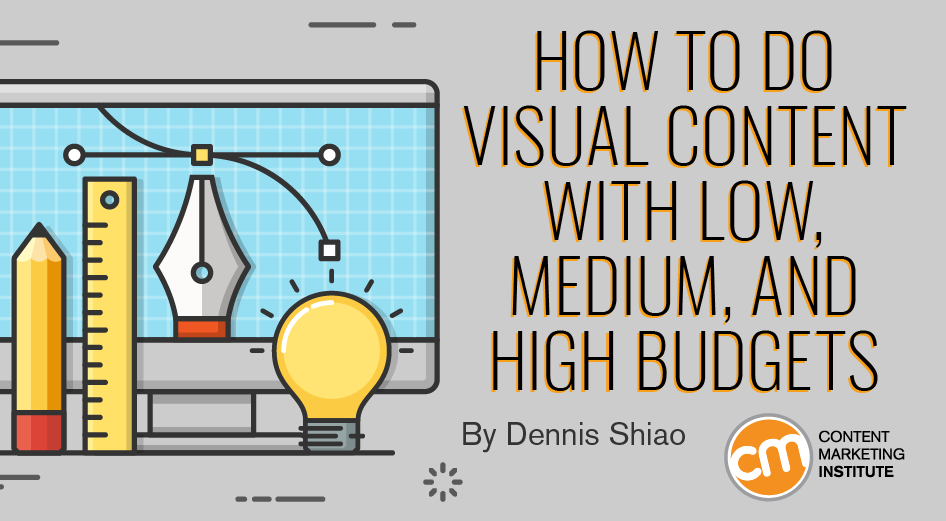 How to Do Visual Content With Low, Medium, and High Budgets