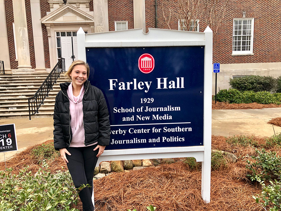 Meet University of Mississippi School of Journalism and New Media IMC student Talley Bass